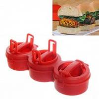 Ручной пресс для приготовления гамбургеров Stufz Sliders,  для бургеров,котлет, фото 1