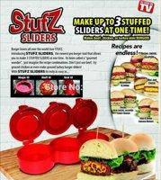 Ручной пресс для приготовления гамбургеров Stufz Sliders,  для бургеров,котлет, фото 4