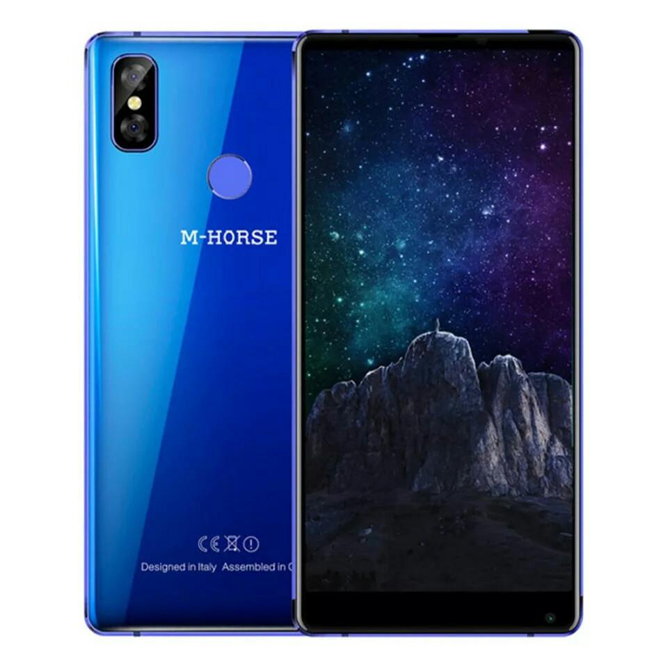 """Смартфон M-Horse Pure 2 Blue, 18:9, 4G 5.99"""" 4\64Gb, 3600 mAh"""