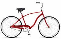 """Велосипед 26"""" Schwinn Cruiser One 2015 red"""