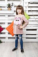 Платье туника Хвост Сова №2 , фото 1