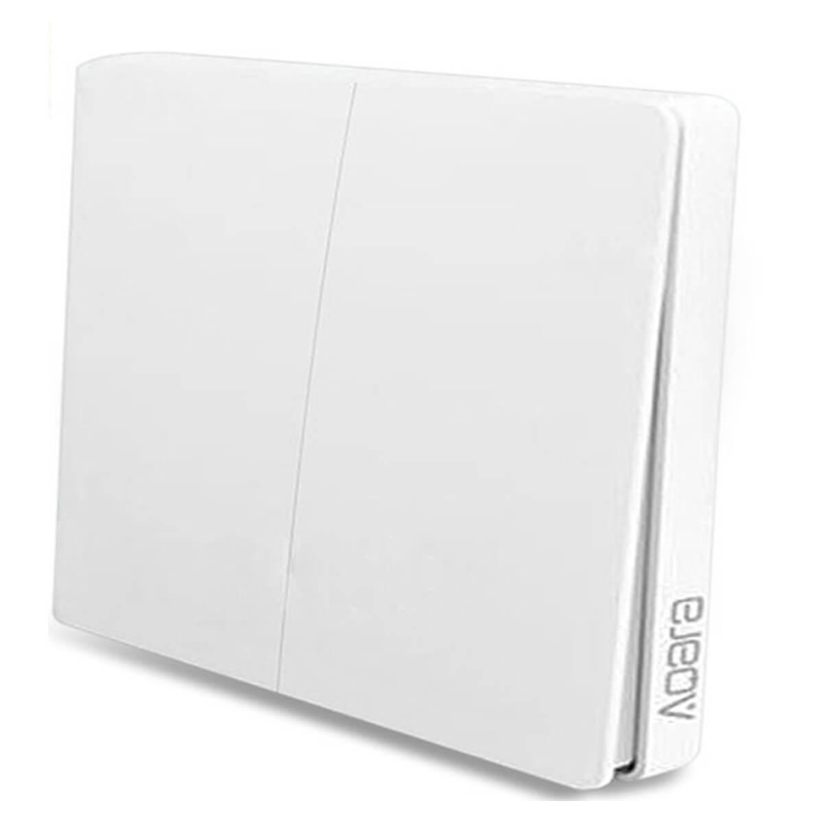 Умный выключатель Aqara Smart Light Switch ZigBee Version (2 кнопки)