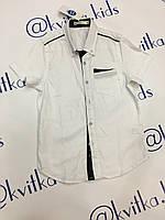 Рубашка на мальчика размер 134-164 см