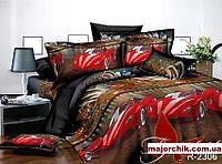 Комплект постельного белья Феррари Гонки. 1,5 спальный комплект 150х220, фото 1