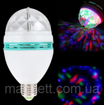 Вращающаяся диско-лампа «LED FULL COLOR» Разные Цвета