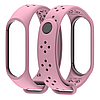 Ремешок MiJobs Sport Light для Xiaomi Mi Band 3 Pink (Розовый)