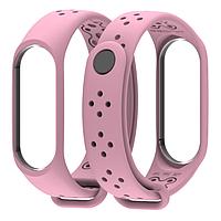 Ремешок MiJobs Sport Light для Xiaomi Mi Band 3 Pink (Розовый), фото 1