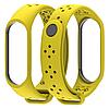 Ремешок MiJobs Sport Light для Xiaomi Mi Band 3 Yellow (Желтый)