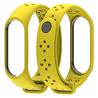 Ремешок MiJobs Sport Light для Xiaomi Mi Band 3 Yellow (Желтый), фото 1