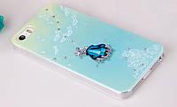 Чехлы для iPhone 5 5S Joyroom Swarovski Светящиеся, фото 1