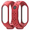 Ремешок MiJobs Sport Light для Xiaomi Mi Band 3 Red (Красный)