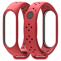 Ремешок MiJobs Sport Light для Xiaomi Mi Band 3 Red (Красный), фото 1