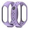 Ремешок MiJobs Sport Light для Xiaomi Mi Band 3 Purple (Фиолетовый)