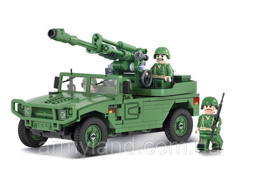 ГАЗ c орудием, военный конструктор