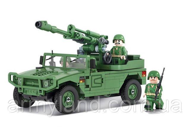 ГАЗ c орудием, военный конструктор  , фото 2