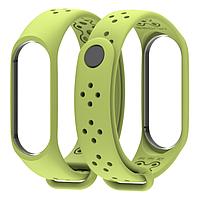 Ремешок MiJobs Sport Light для Xiaomi Mi Band 3 Light Green (Салатовый)
