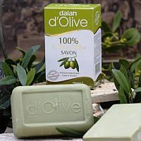 Натуральное 100% оливковое мыло Dalan D'Olive, 150 гр