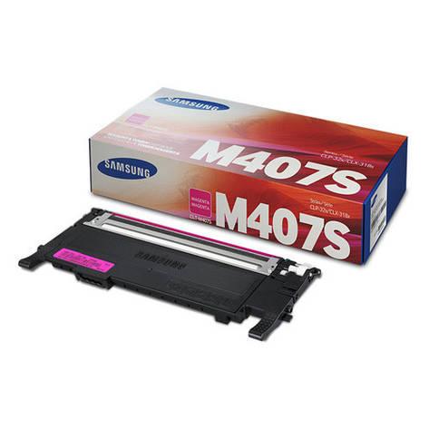 Заправка картриджа Samsung CLT-M407S magenta, фото 2