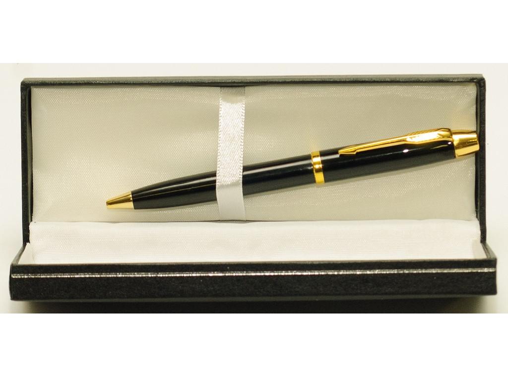 Ручка шариковая с поворотным механизмом подачи стержня