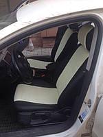 Авточехлы модельные чехлы Эко-кожа Комбинированные Volkswagen B 6 Фольксваген Б6  Оригинал, фото 1