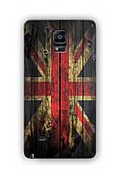 Чехол для Samsung Note 4 (Британский флаг)