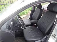 Авточехлы модельные чехлы Эко-кожа Комбинированные Volkswagen Polo III Фольксваген Поло 3  Оригинал, фото 1