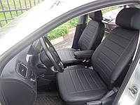 Авточехлы модельные чехлы Эко-кожа Комбинированные Volkswagen Polo 4  Фольксваген Поло 4 Оригинал, фото 1