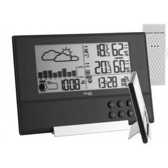 351106. Метеостанция TFA Pure Plus, 120x178x35 мм