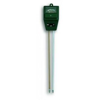 481000. Прибор для садоводов Измеритель влажности/кислотности почвы и освещённости TFA, 300х53х37 мм