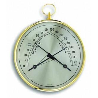 452005. Термогигрометр TFA Klimatherm, пластик, d=100 мм