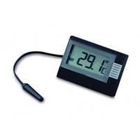 30201801. Термометр автомобильный цифровой TFA, чёрный, 39х52х15 мм