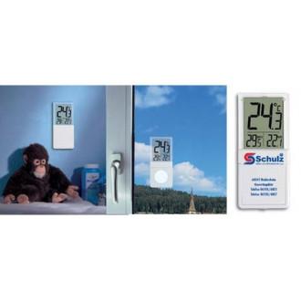 301030. Термометр оконный цифровой TFA Vista, на липучке, 90х40х18 мм