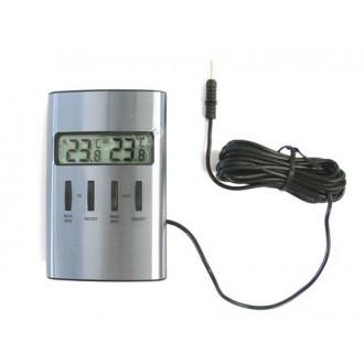 301029. Термометр цифровой TFA, внешний проводной датчик, 98х64х22 мм