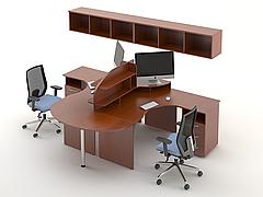 Комплект мебели для персонала серии Атрибут композиция №3 ТМ MConcept
