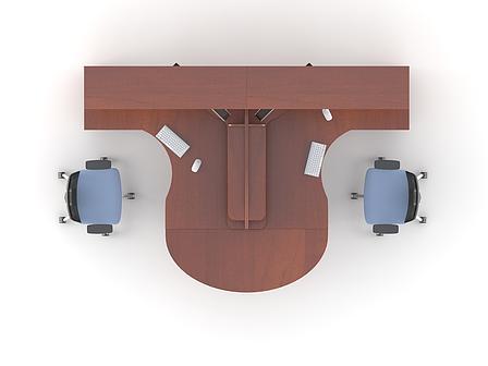 Комплект мебели для персонала серии Атрибут композиция №3 ТМ MConcept, фото 2