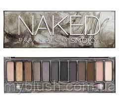 Тени Naked Smoky 12 цветов (вечерний макияж)