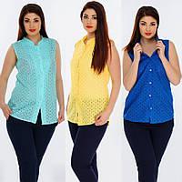 eacc7be86d3 Рубашка женская батистовая. 3 цвета. Р-ры  48