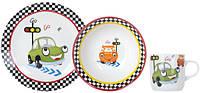 Детский набор посуды LIMITED EDITION FUNNY CAR, 3 предмета