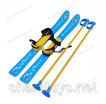 Лыжи с палками детские