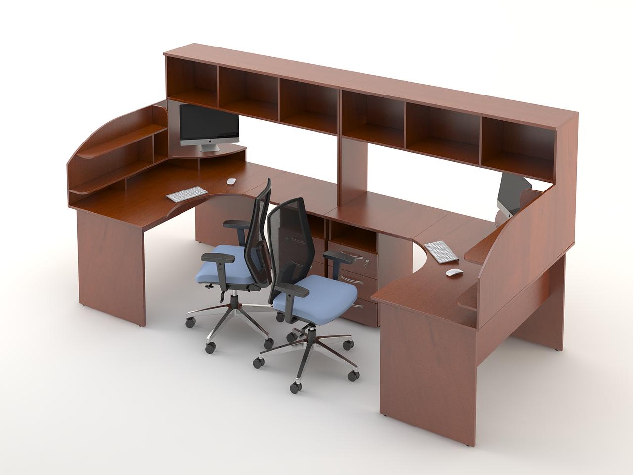 Комплект мебели для персонала серии Атрибут композиция №4 ТМ MConcept