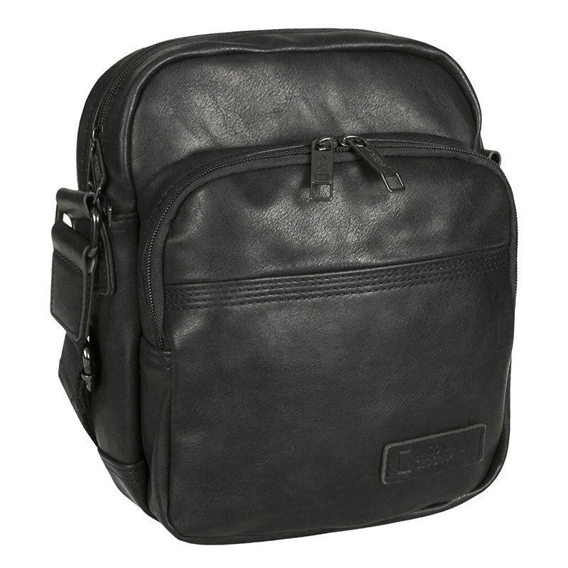 a22e6e3910b7 Мужская сумка National Geographic Community с отд. для планшета Черный  (N12102;06)