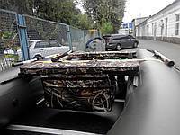Сумка-багажник под сиденье с мягкой накладкой (75х20х4) камуфляж, фото 1
