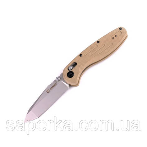 Нож складной Ganzo G701, желтый, фото 2