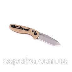 Нож складной Ganzo G701, желтый, фото 3