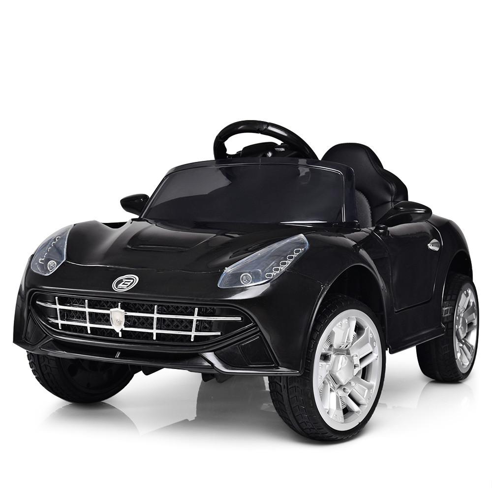 Детский электромобиль FERRARI M 3176 EBLR-2: 2.4G. EVA-колеса, 50W - ЧЕРНЫЙ - купить оптом