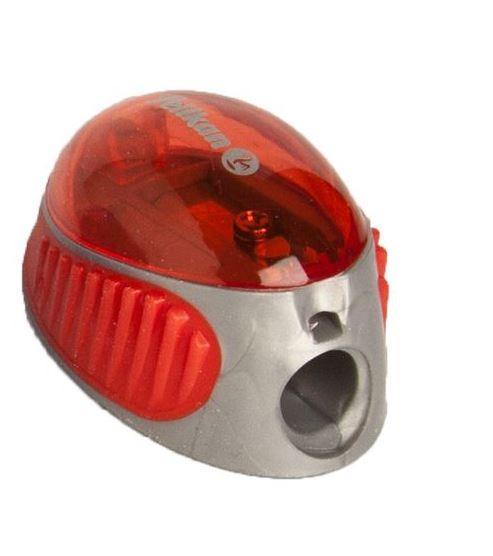Точилка Pelikan 1 отверстие с контейнером красная  (700214R)