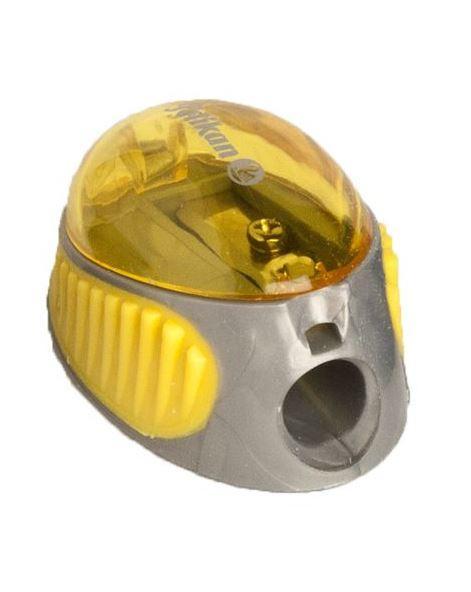 Точилка Pelikan 1 отверстие с контейнером желтая  (700214Y)