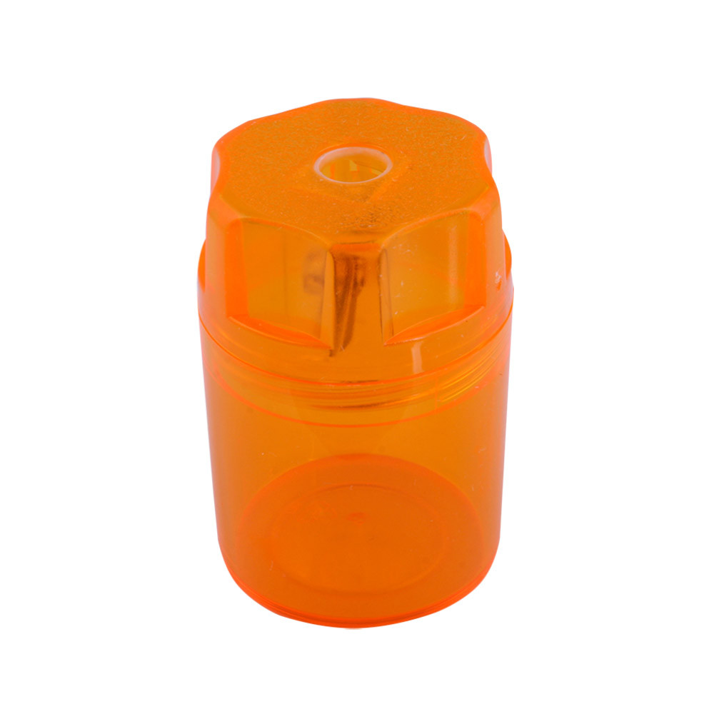 Точилка Herlitz Canister с контейнером оранжевая (8680001Y)
