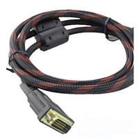 Кабель HDMI DVI 1,5м позолоченный усиленный