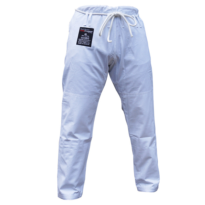 Штаны для кимоно FIREPOWER New 3.0 Rip-Stop Белые
